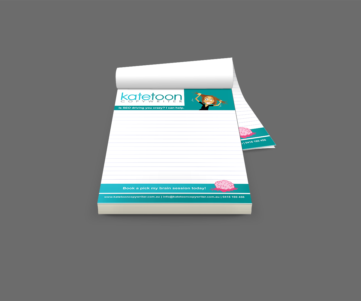 Kate Toon A5 Notepads