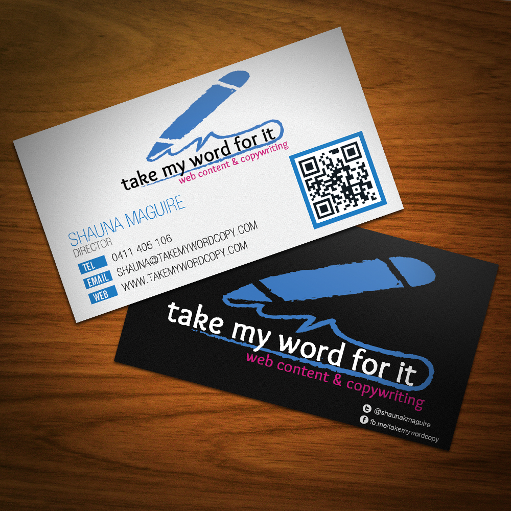 Take-my-word-for-it-business-cards