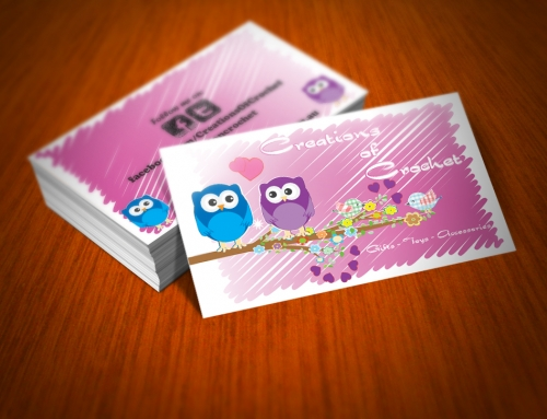 Creations of Crochet – Business Cards
