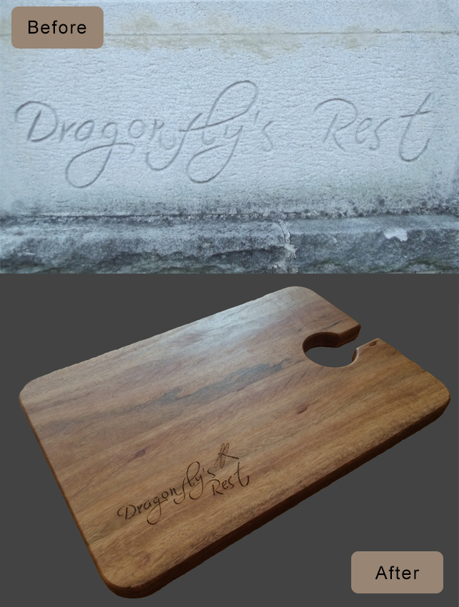 Dragonfly Cheeseboard