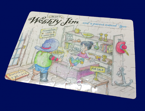 Wobbly Jim Promotional Puzzle